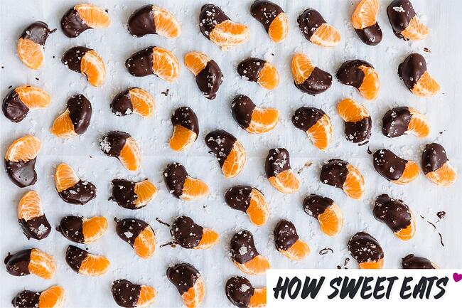 How Sweet Eats Chocolate Dipped Clementines