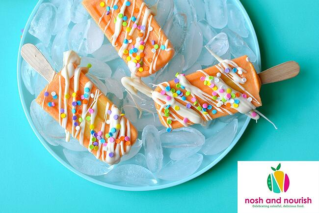 Nosh and Nourish Orange Dreamsicles