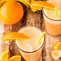 Orange Banana Smoothie