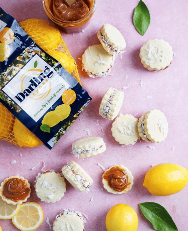 darling lemons alfajores