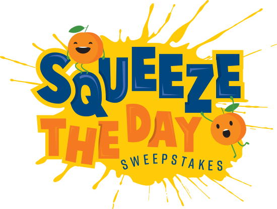 Squeeze the Day Sweepstakes logo